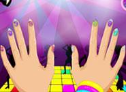 Раскраска маникюр для девочек онлайн